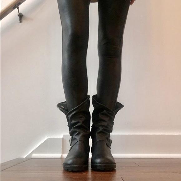 "5212e60993e Coolway ""Alida"" leather boot. Size 8"